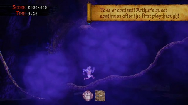 Ghosts 'n Goblins Game screenshot