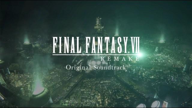 Final Fantasy VII Remake Soundtrack