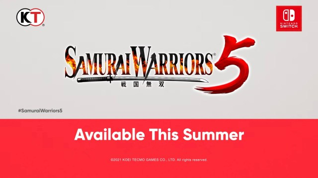 Samurai Warriors 5 game Switch