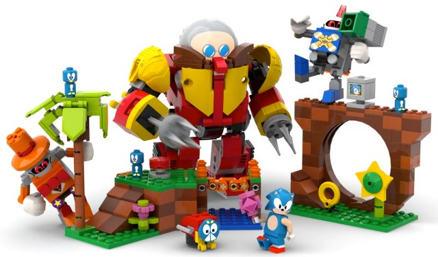 Green Hill Zone, Sonic the Hedgehog LEGO fan-made set