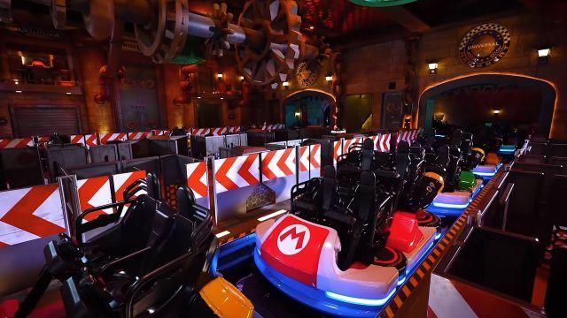 Mario Kart Ride From Super Mario World Theme Park