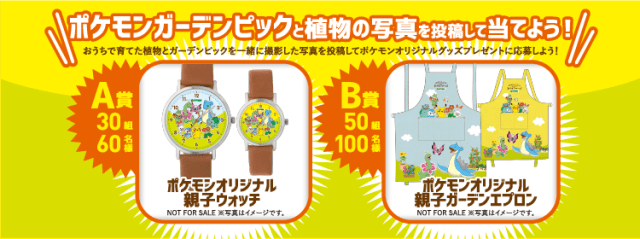 Prizes for Hyponex Pokémon campaign
