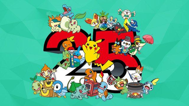 Pokemon 25th Anniversary