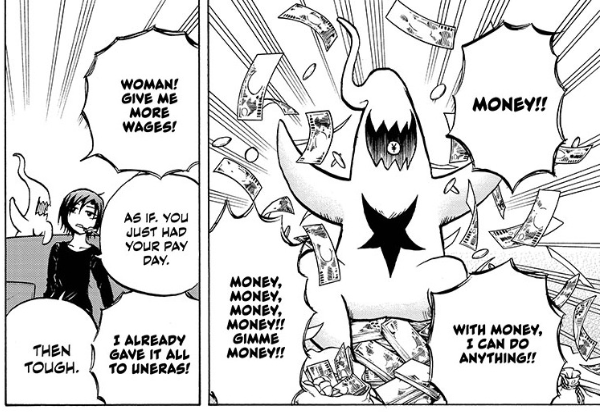 Screenshot from Magu-chan: God of Destruction chapter 23