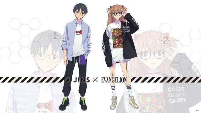 JINS Neon Genesis Evangelion Collaboration