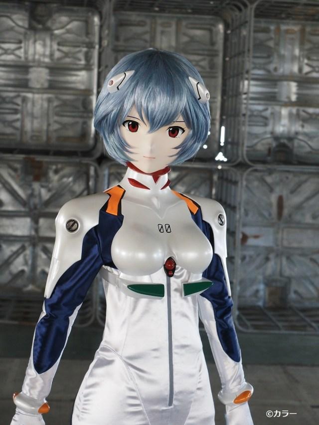Life-Size Rei Ayanami Figure