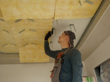 подшивной потолок в квартире