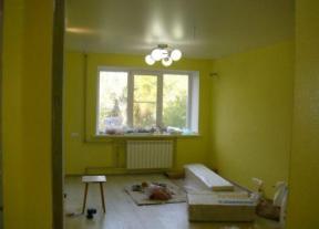 комната после отделочных работ