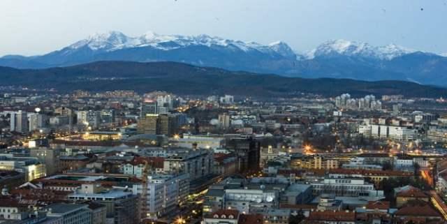 Любляна - общ изглед