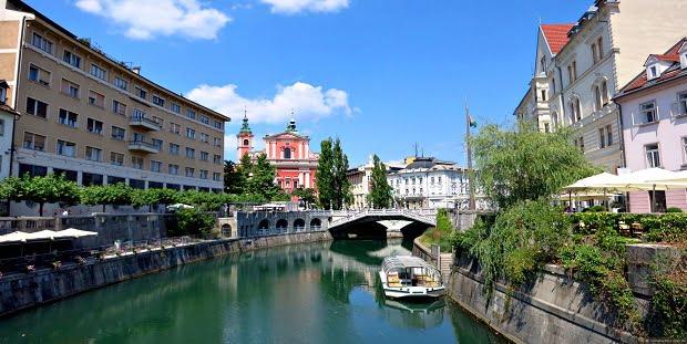 Любляна, столицата на Словения – климат, валежи, икономика, история, снимки