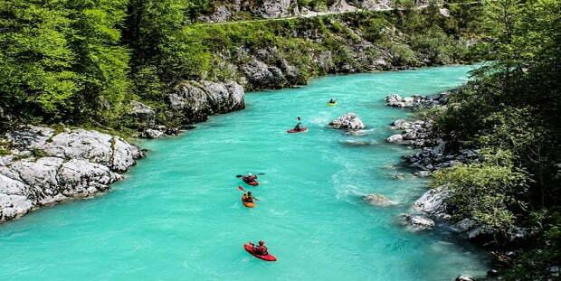 Река Соча в Словения – красотата на тюркоазените води