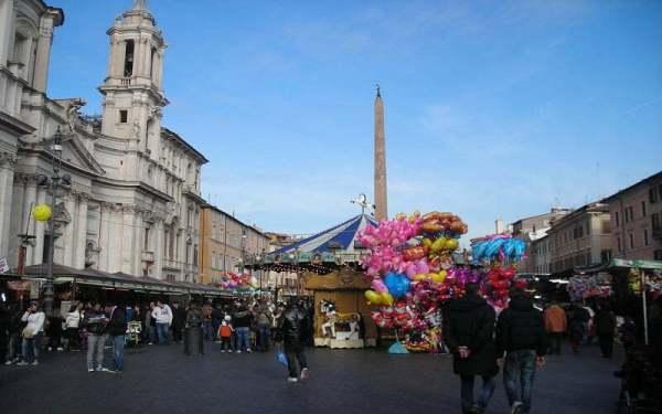 4 от най-добрите коледните базари В Рим, които да посетим