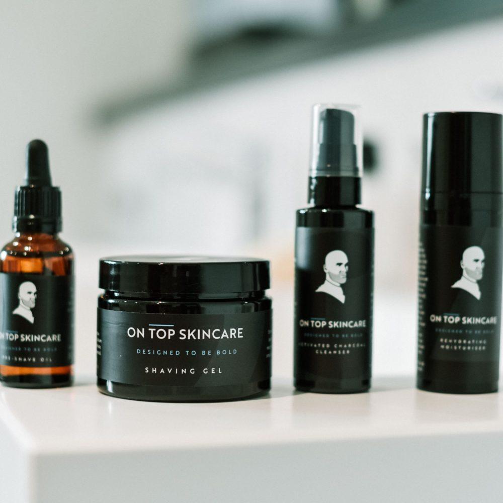 Otelli marketing working with OnTopSkincare cosmetics company to produce creative lifestyle photography