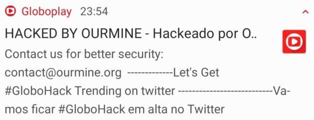Após ação de hackers, Globoplay pede desculpa e faz esclarecimentos