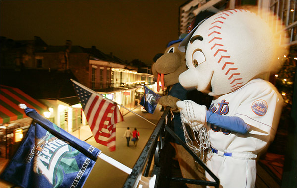 Mr. Met Gone Wild