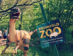 Brookfield Zoo Dinosaurs - Velocaraptor