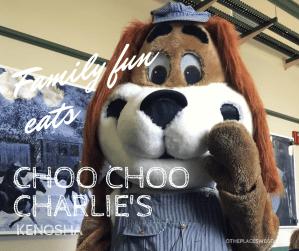 A review of Choo Choo Charlie's in Kenosha, a family-friendly train-themed restaurant