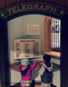 Civil War Museum Kenosha - Morse Code