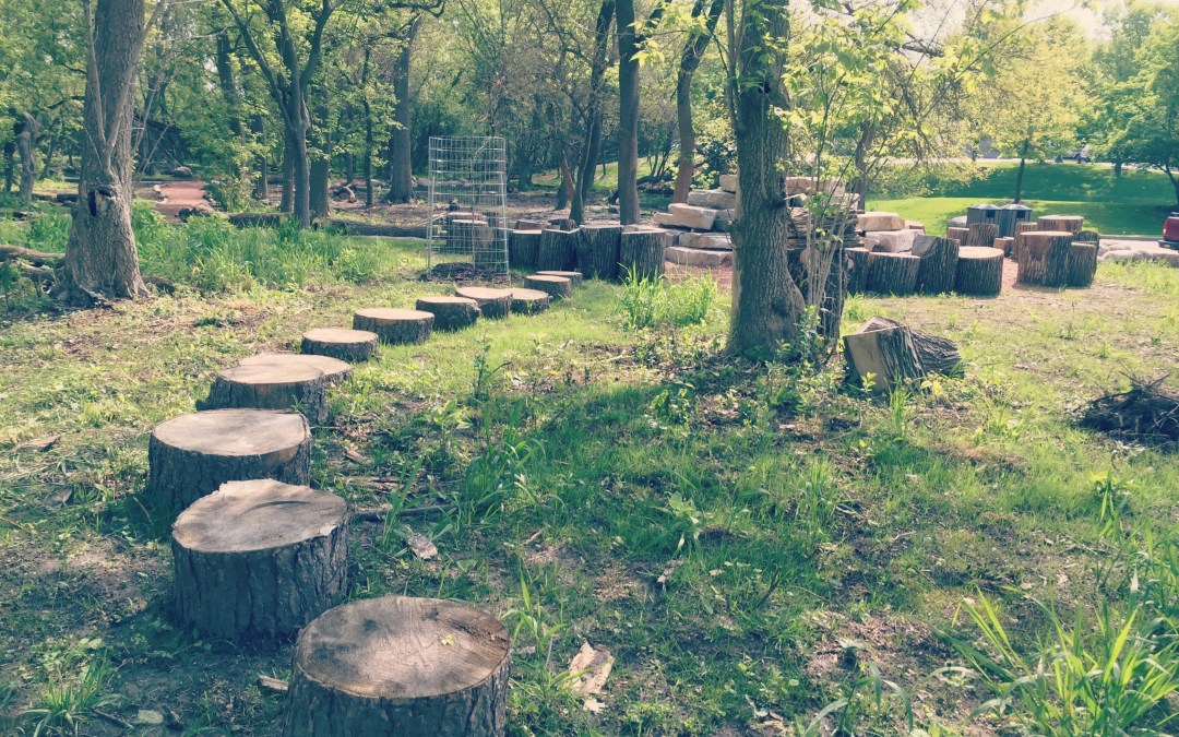 Parks we LOVE: Wahoo Woods, a New Nature Play Space in Dundee