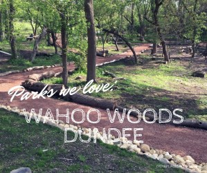 Wahoo Woods Dundee - New Nature Play Space