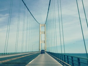 Crossing the Mackinac Bridge