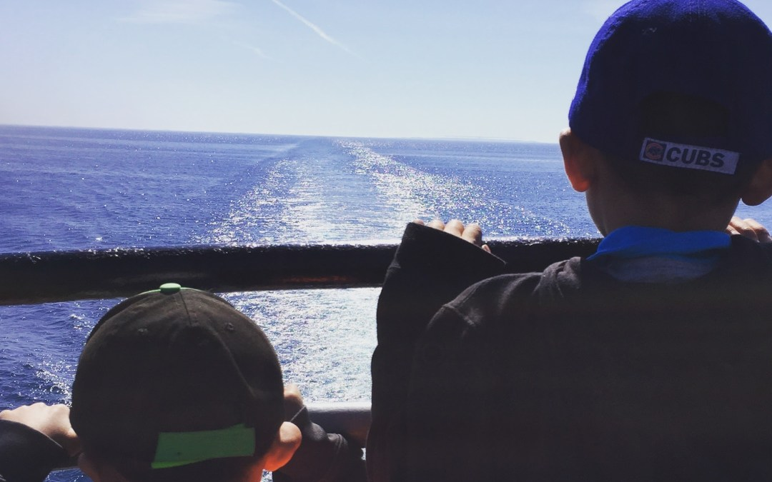 A memorable trip with kids across Lake Michigan on the S.S. Badger Carferry