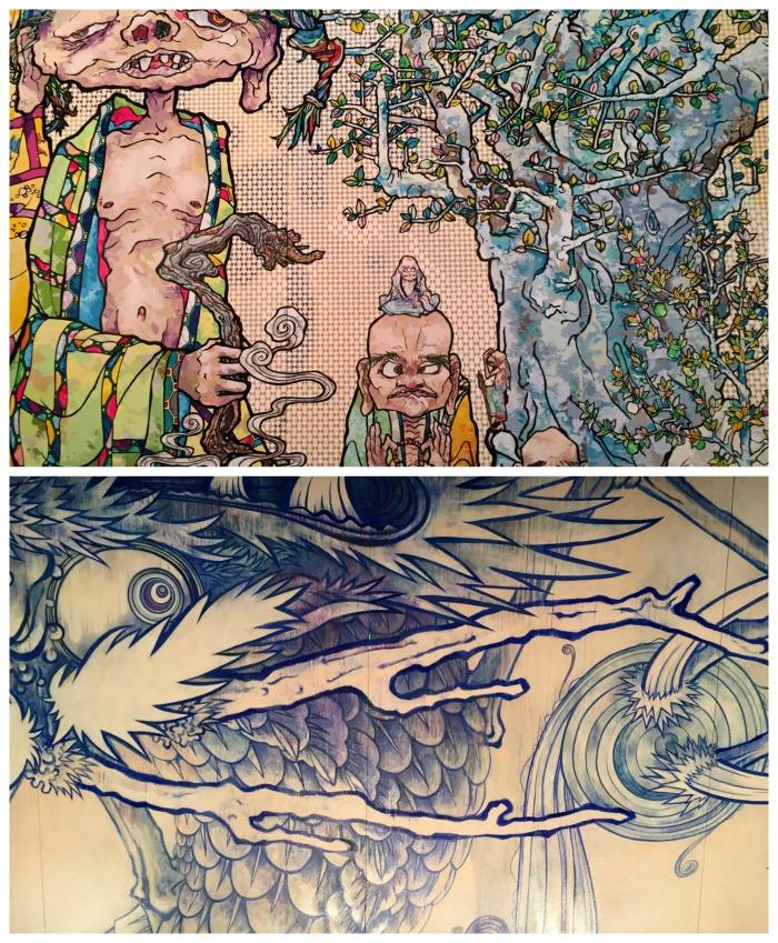 MCA Takashi Murakami - Lighted Murals