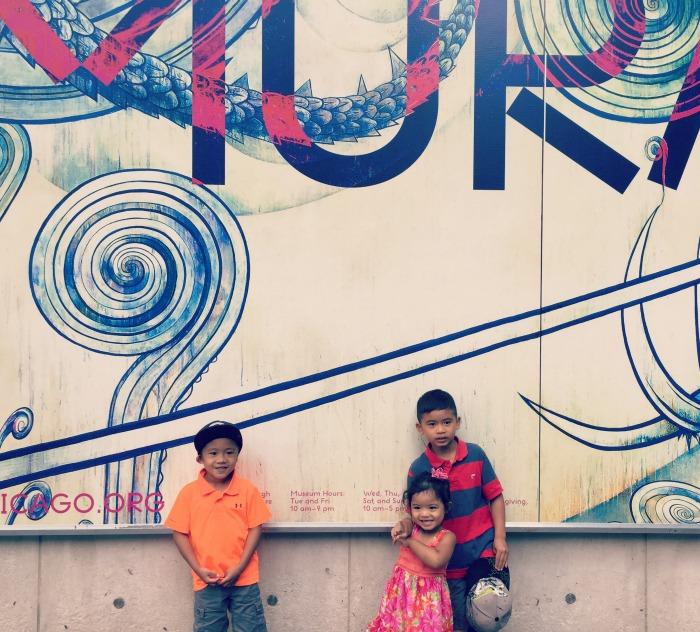 MCA Takashi Murakami - Outside Mural