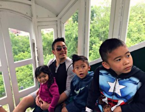 Family Fun in Dubuque, Iowa's oldest city, including riding up the Fenelon Place Elevator.