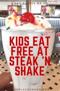 Kids now eat free on weekends at Steak 'n Shake. Read on to see what other kid-friendly aspects you'll find at your nearest Steak 'n Shake.