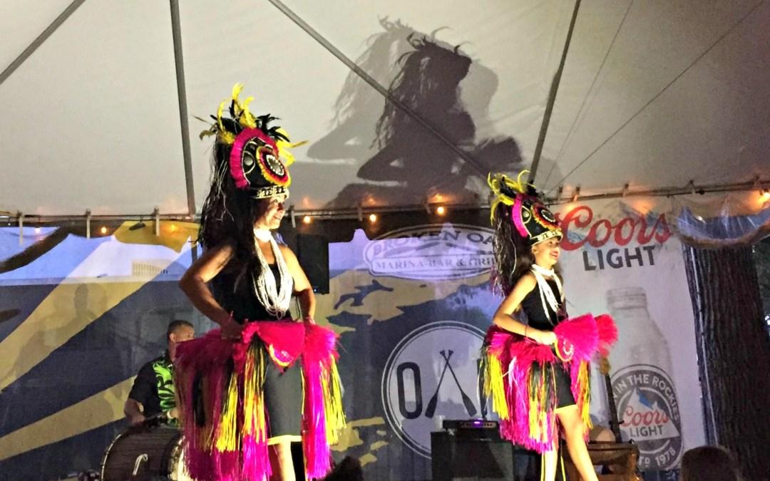 Broken Oar: Luau Wednesdays are made for families
