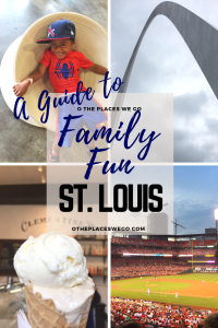 Family fun in St. Louis, Missouri including visiting the Gateway Arch, Saint Louis Science Center, City Museum.