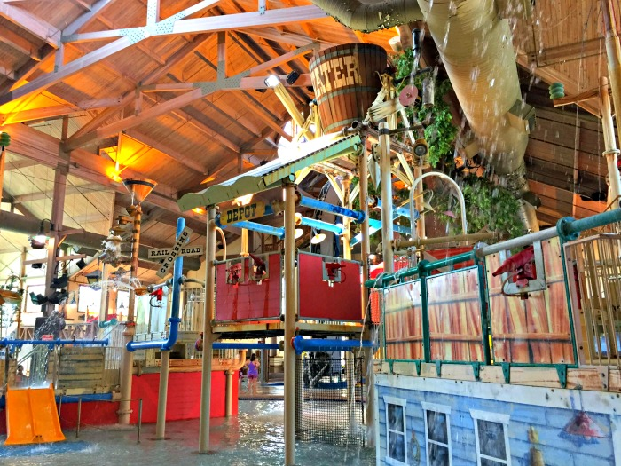 Family fun at Ingleside Hotel and Springs Waterpark Outside Milwaukee