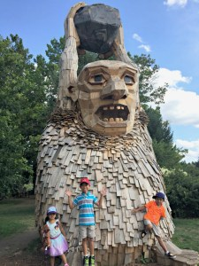 Everything you needed to know about the Troll Hunt at Morton Arboretum in Lisle.