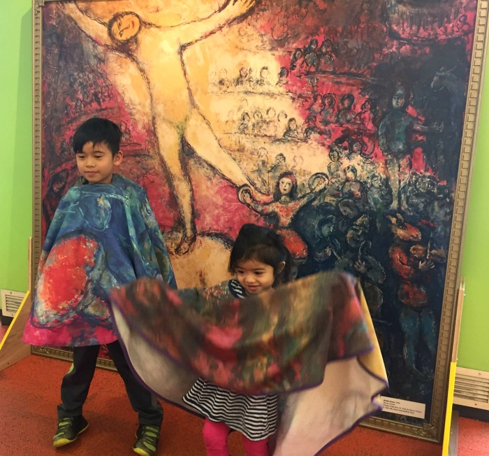 Family fun with Chagall for Children at Arlington Heights Memorial Library