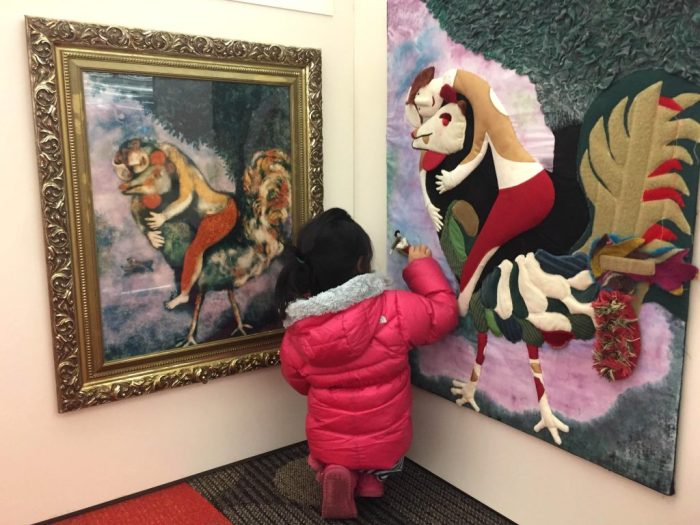 Family fun with Chagall with Kids at Arlington Heights Memorial Library