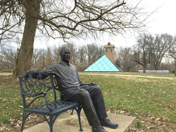 An art adventure at Pyramid Hill Sculpture Park and Museum in Hamilton Ohio