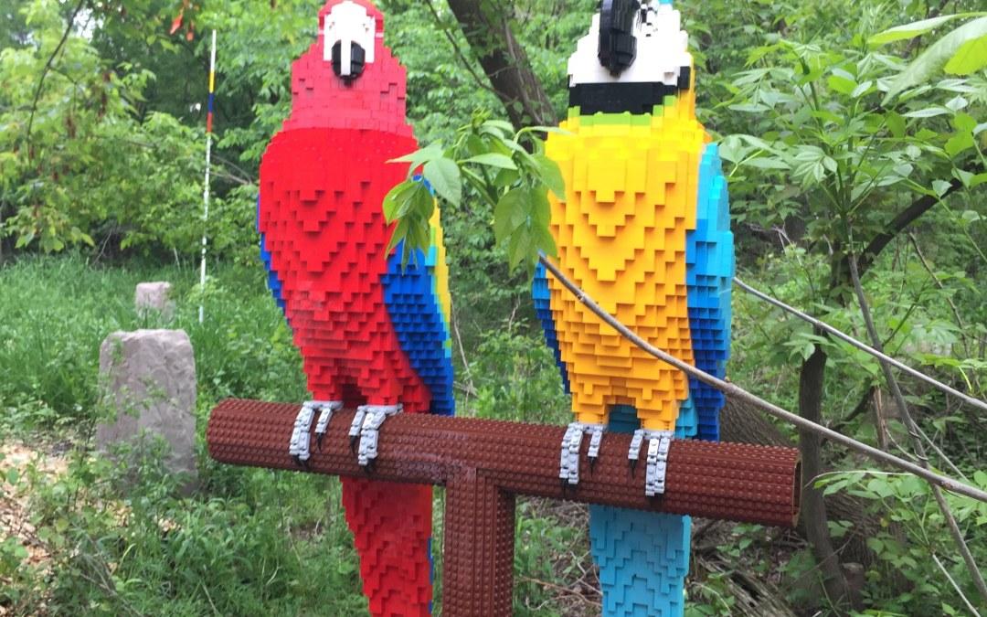 Go on a Brick Safari at Brookfield Zoo