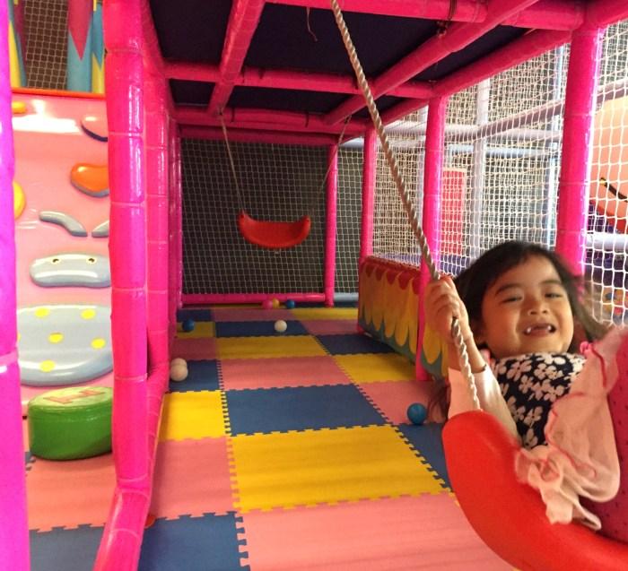 Kiddie fun at Kinderland Indoor Playground and Cafe in Algonquin