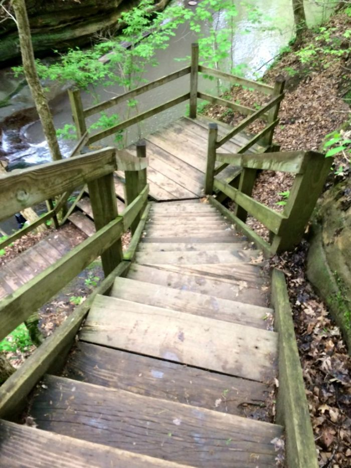Exploring the hidden gem Matthiessen State Park in Illinois with the Family