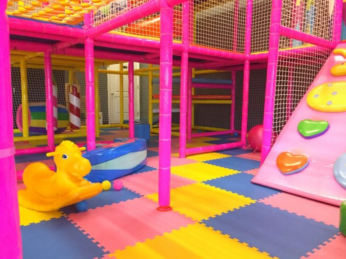 Kiddie fun at Kinderland Indoor Playground and Cafe in Algonquin