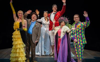 Modern Retelling of The Princess and the Pea at Marriott Theatre