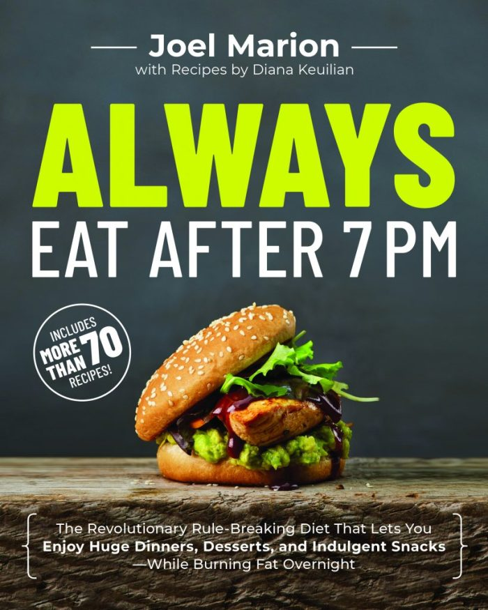The new book by Joel Marion, Always Eat after 7PM, suggests a program for losing weight while eating at night. Follow along as I follow his program.