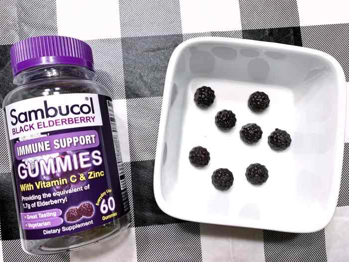 Boost your health with Sambucol Black Elderberry Gummies. Delicious gummies that help boost your immunity.