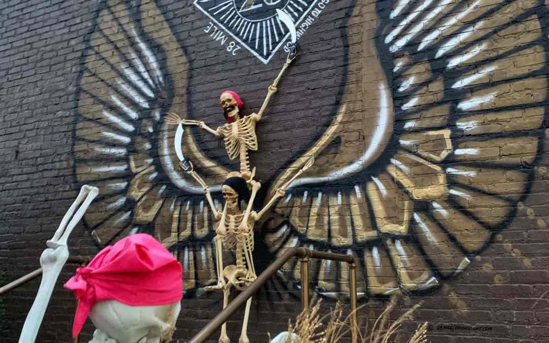 Skeletons Invade Highwood + Tips to Enjoy Your Hunt For Them