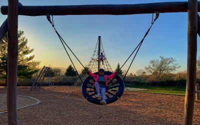 "Fun Playgrounds at Randall Oaks Park including the Revamped ""Hidden Park"""