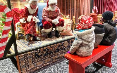 Holiday Fun in Downtown Woodstock: Pickle Scavenger Hunt, Santa, and More