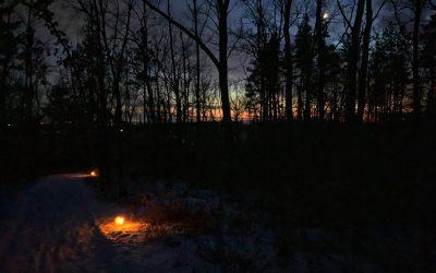 Exploring Marengo Ridge: A Candlelight and Winter Hike
