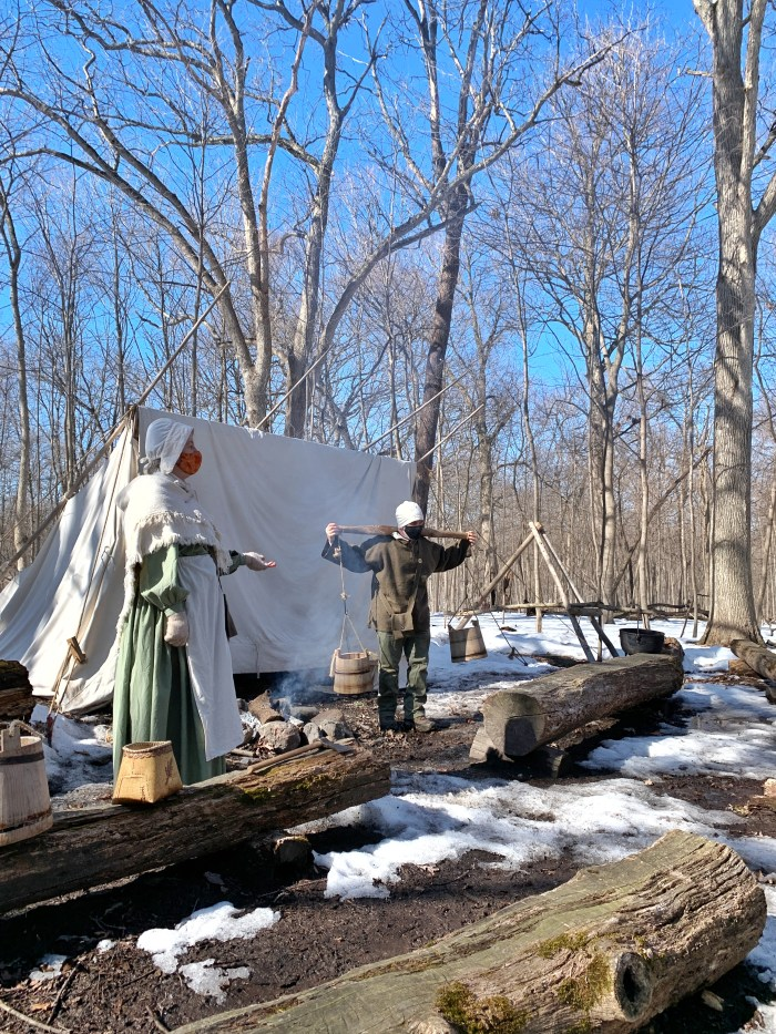 Learn how sap turns into maple syrup at Festival of the Sugar Maples at Coral Woods in Marengo. An educational experience that is also FUN!