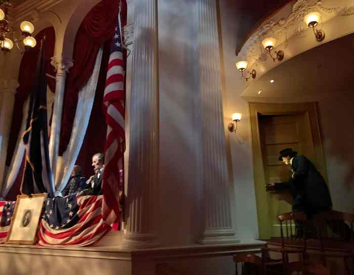 Learn about Lincoln's beginnings to his presidency at the The Abraham Lincoln Presidential Museum in Springfield, Illinois.